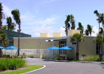 Boca Beach Club Temporary Access Center Modular Building