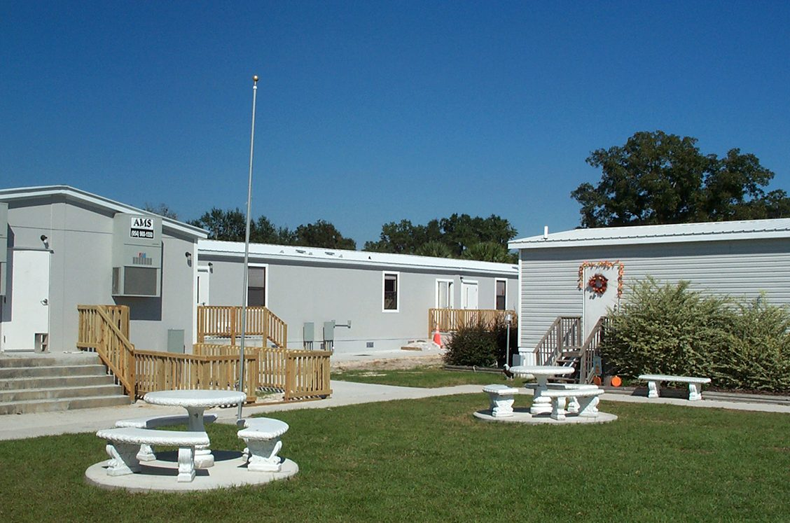 Modular construction school classroom buildings