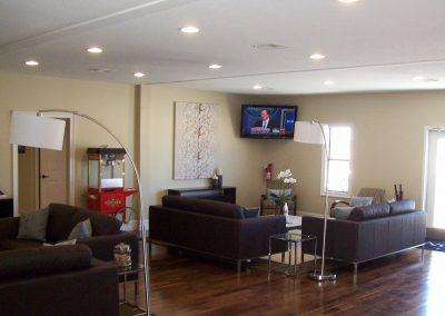 Modular sales office interior