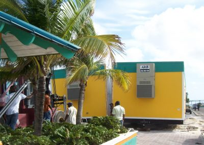 Double Wide Modular Building for Security Checkpoint, Nassau