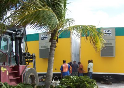 Royal Caribbean Cruise Line Modular Building Delivery and Installation