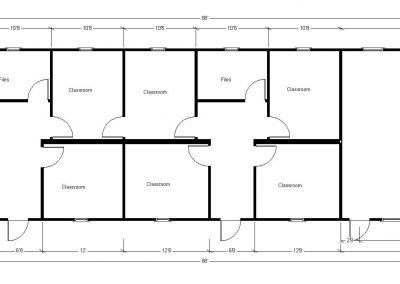 26'x 88' Classroom Floor PLan CROP