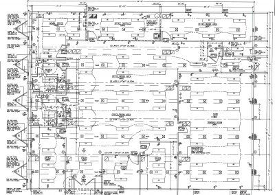 74 x 60 Modular Office Complex Floor Plan