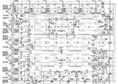 74 x 60 Modular Medical Building Floor Plan