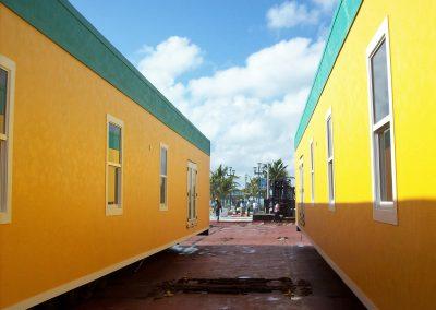Modular Buildings for Royal Caribbean Security Checkpoint