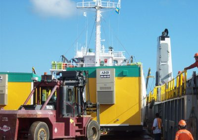 Delivery of Modular Building Units to Nassau, Bahamas