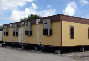 4-wide modular office building for sale or lease
